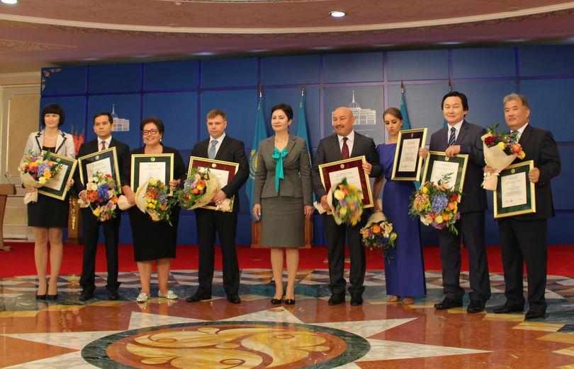 В Казахстане поощрили журналистов
