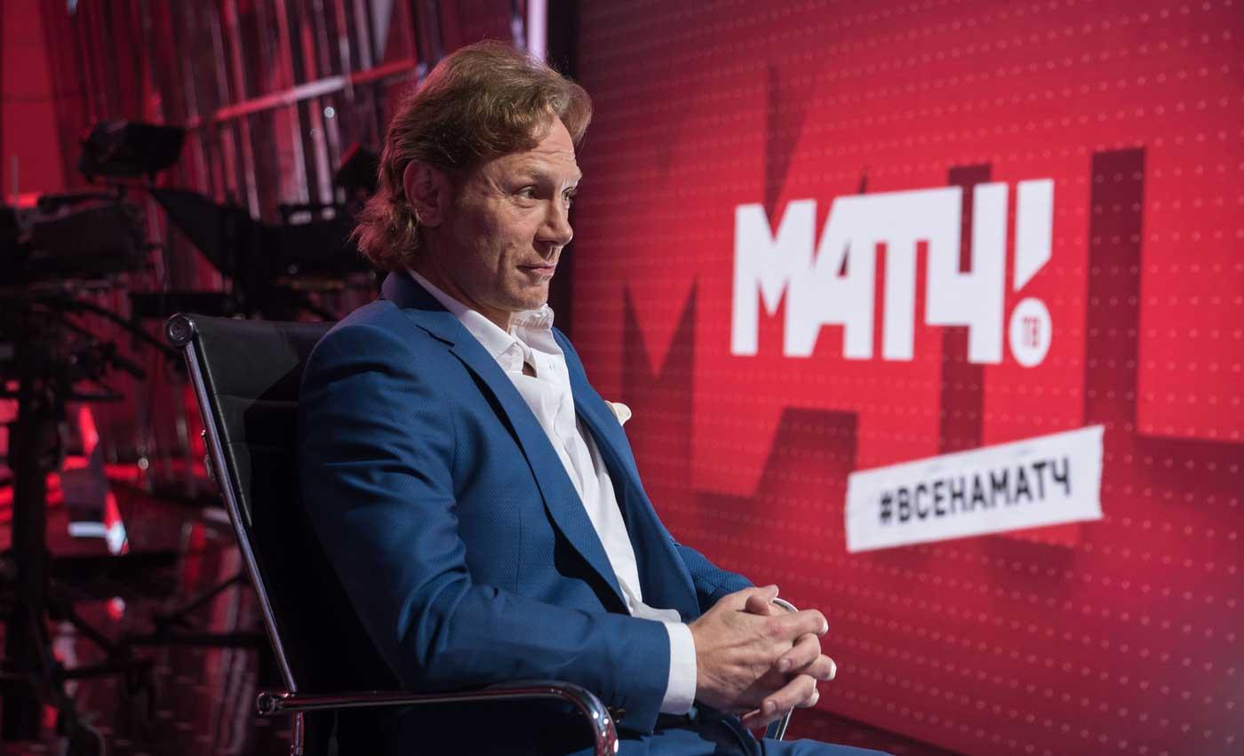 Валерий Карпин станет главным редактором футбольных трансляций «Матч ТВ»