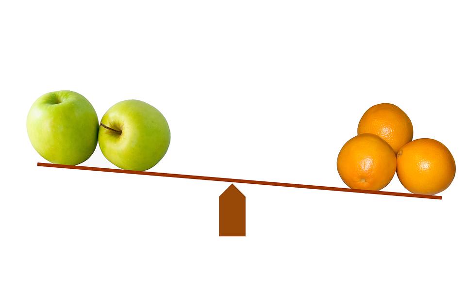 В рекламе сравнение товаров и услуг должно быть корректным
