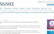 ICAS, EASA и CONARED – об ответственности рекламной отрасли в период распространения вируса COVID-19