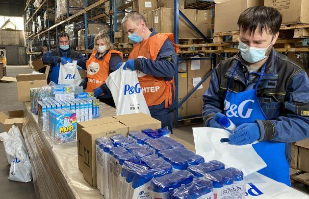 Procter&Gamble обеспечит врачей и пациентов гигиеническими наборами первой необходимости