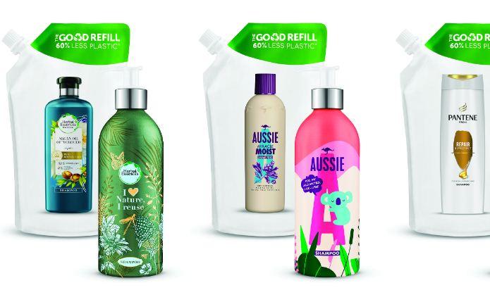 P&G Beauty запускает в Европе первую систему многоразовых перезаполняемых алюминиевых бутылок для товаров по уходу за волосами