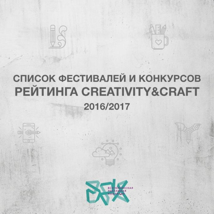 16 фестивалей и конкурсов – в украинском Рейтинге креативности и мастерства сезона 2016/2017
