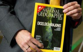 Издателем журнала National Geographic в Эстонии стала AS Aripaev
