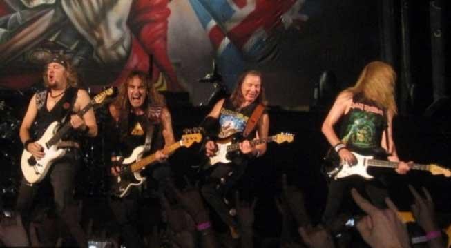 Реклама концерта Iron Maiden напугала литовских детей
