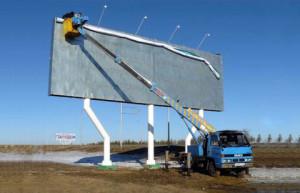 Баннеры вдоль азербайджанских дорог расставят по стандарту