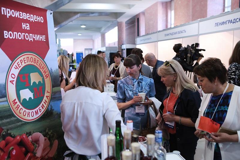 Петербургский продовольственный рынок привлекает региональных производителей
