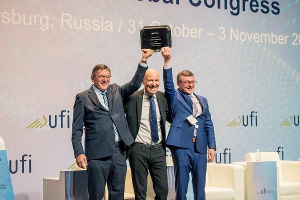 Сергей Воронков: «После 85-го Всемирного конгресса UFI Петербург останется в ваших сердцах»