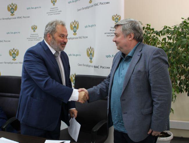 Первым из региональных управлений соглашение с Ассоциацией «Рекламный совет» подписало Санкт-Петербургское УФАС. Начало положено!