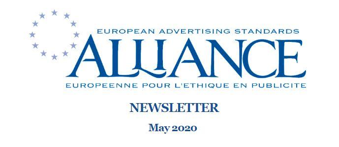EASA проинформировал о ситуации с саморегулированием в рекламе в мае 2020-го